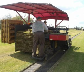 Crew Stacking Sod